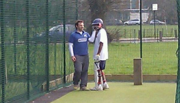 King's Road hit out in the nets