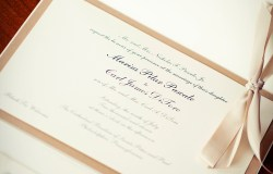 Elegant Wedding Pocket Invitation