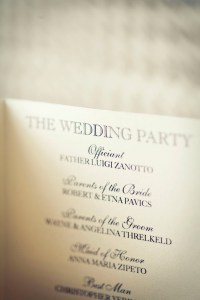 Guide to Wedding Programs
