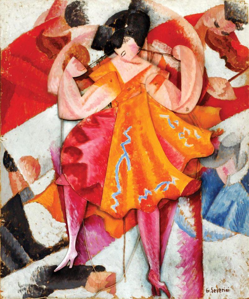 Gino Severini - Danseuse articulée (1915)