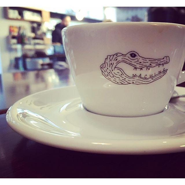 First thing we do in Munich? #thirdwavecoffee @manversusmachine