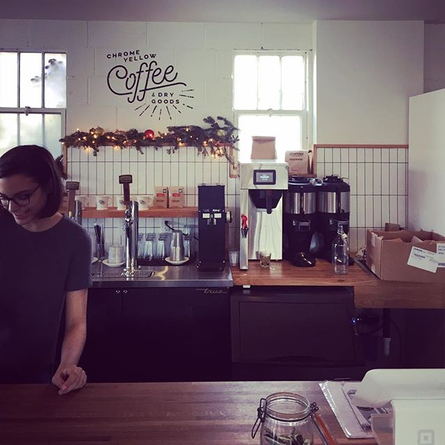 Of course, we had to check out Atlanta's third wave coffee scene #thirdwavecoffee #atlanta