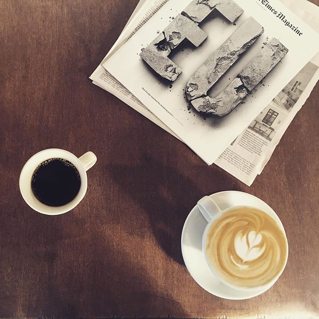 Damn good #stumptown coffee here at #chromeyellowatl