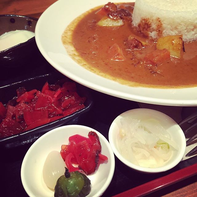 Japanese curry is the best comfort food ever. Period.