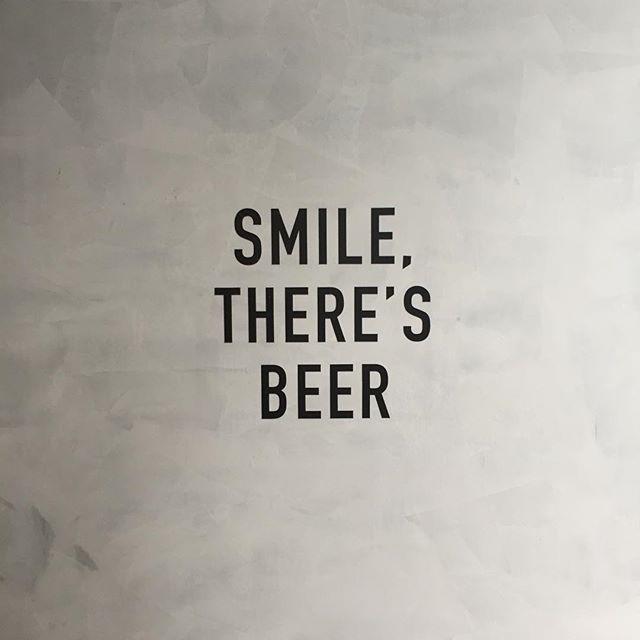 Smile #thereisbeer