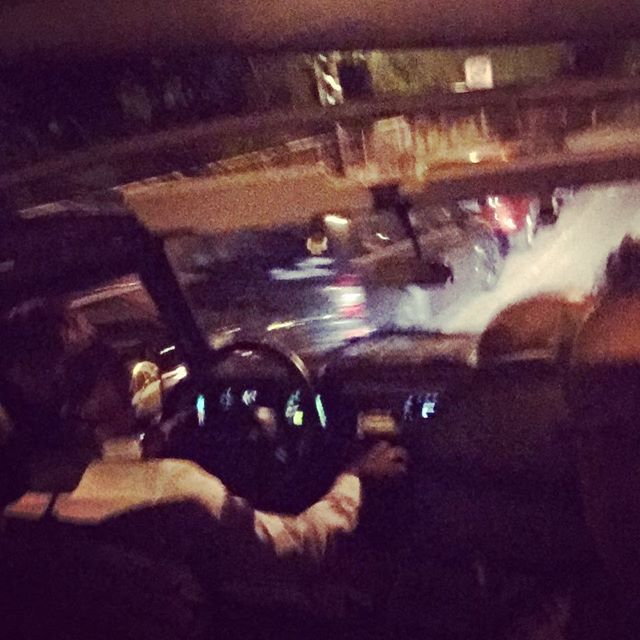 Night out with the boys #fuenfwerken #landrover #topdown