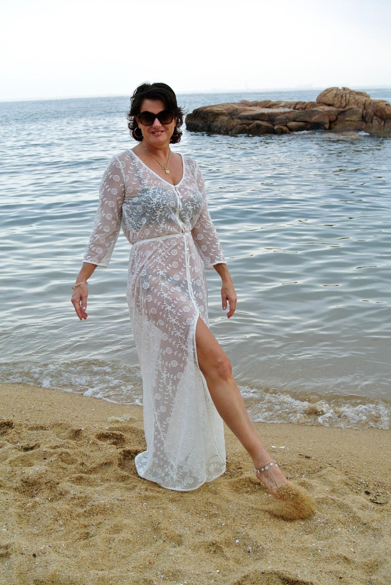 White Maxi Dress - Kremb de la Kremb 1