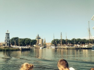 Vertrek met veerboot 2 uit Enkhuizen