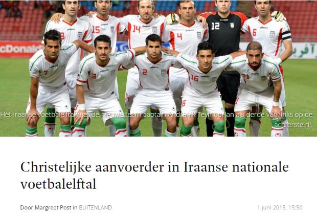 voetbal iran