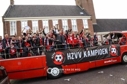 kamp op de bus