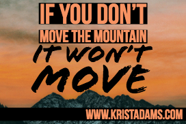 Move the mountain