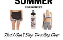 Summer Running Clothes