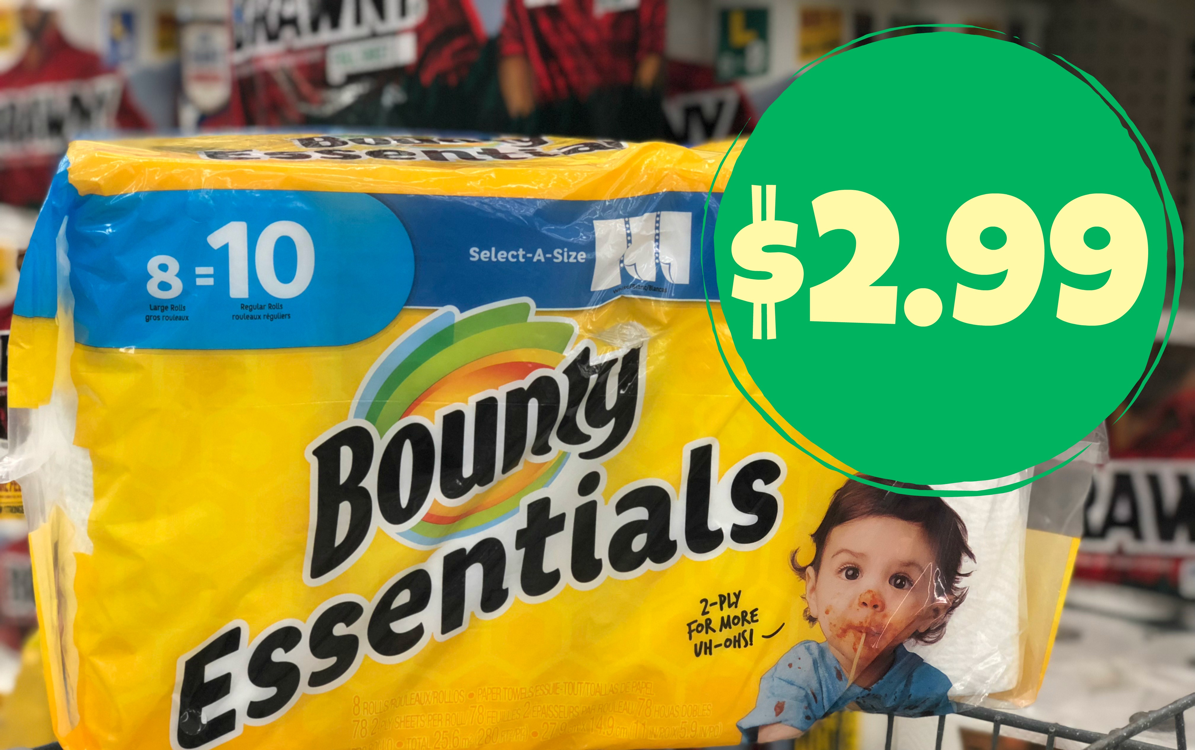 Enchanting Bounty Essential Paper Large Rolls I Have T You About Bounty Paper Towels A Couple Times Green Packis My But If You Could Get Some Bounty Essentialspaper Pay As Low As baby Essentials By Catalina