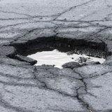 Gaping Pot Hole To Receive Attention Soon