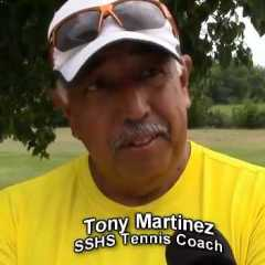 Wildcats Tennis Coach Tony Martinez was pleased with the progress of his doubles teams