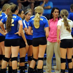 Lady Cats' Volleyball Team Wins District Match