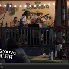 Stone Groove at Muddy Jakes Backyard 8/09/14