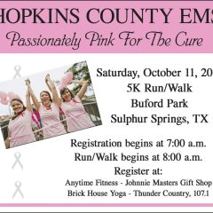 Passionately Pink For the Cure – April McGuffey Hopkins County EMS