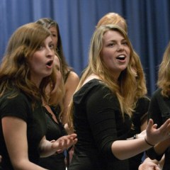Sarah Bennett and Teresa Botello Advance at All-Region Choir Competition