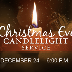 Christmas Eve at Wesley UMC