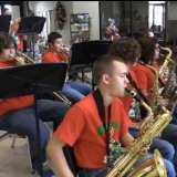 SSISD Jazz Band at Alliance Bank