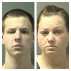 Diver Recovers Weapon; Mother, Son Arrested
