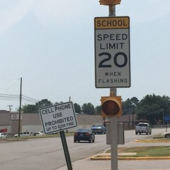 School Starts, School Zone Laws Enforced