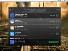 Ubuntu social media kit in ubuntu play store
