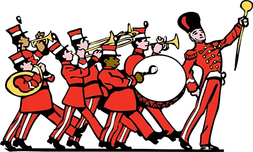 Trenton Marching Band Festival results