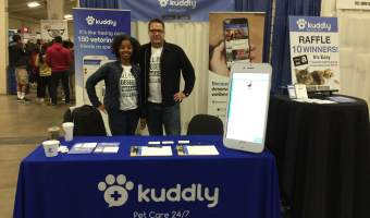 Kuddly At The Bay Area Pet Expo