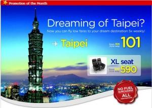 Dreaming of Taipei