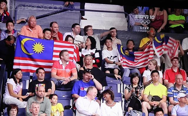 penyokong malaysia sukan olimpik 2012