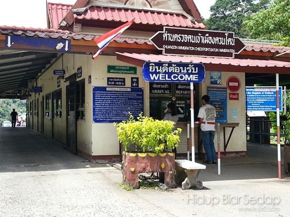 pintu sempadan malaysia thailand