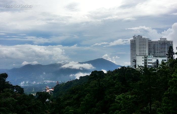 pemandangan tanah tinggi