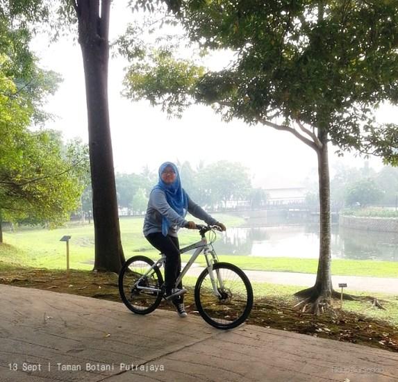 basikal taman botani putrajaya