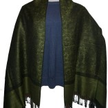 Silky Green and designed cashmere