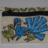 three birds pouch