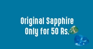 Original Sapphire for Rs 50 only