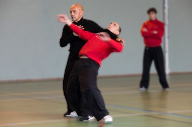 Travail de projection en Tai Ji Quan
