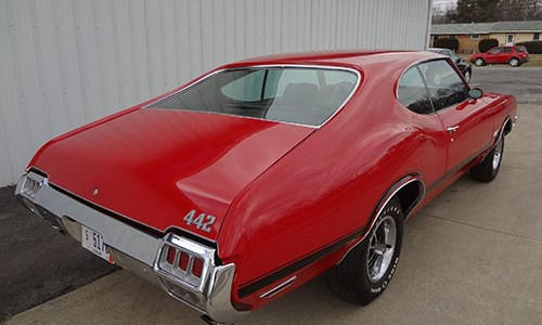 1972 Olds 442 009