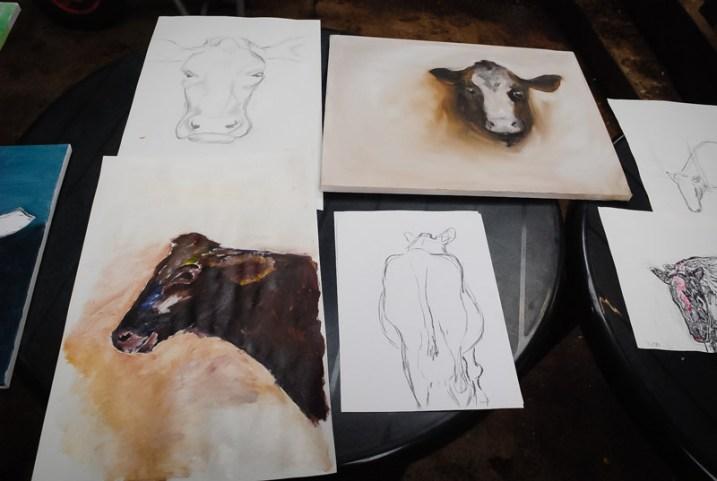 kunststichting-markelo-ksm-herfstworkshop-2015-koeien-schilderenDSC_6535