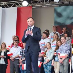 ANDRZEJ DUDA odwiedził Pułtusk