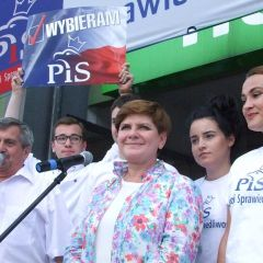 BEATA SZYDŁO – posłanka PiS i kandydatka na premiera RP odwiedziła Wyszków
