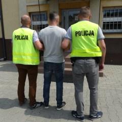 KPP Węgrów – Łochowscy policjanci zatrzymali  podejrzanego o kradzież