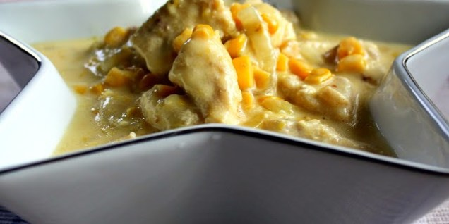 Chicken with Creamed Corn