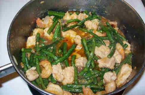 Ginisang Sitaw (Sauteed String Beans)