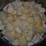 Sunčane kocke sa jabukama (posni kolač)