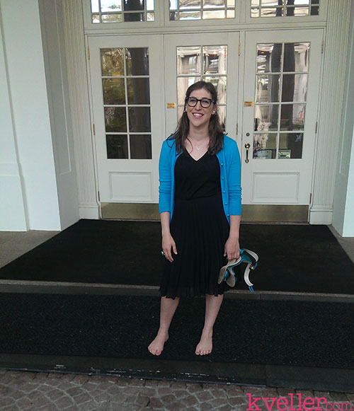 mayim-in-front-of-white-house