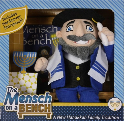 mensch-on-bench
