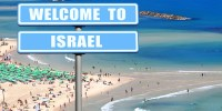 welcome to israel tel aviv beach
